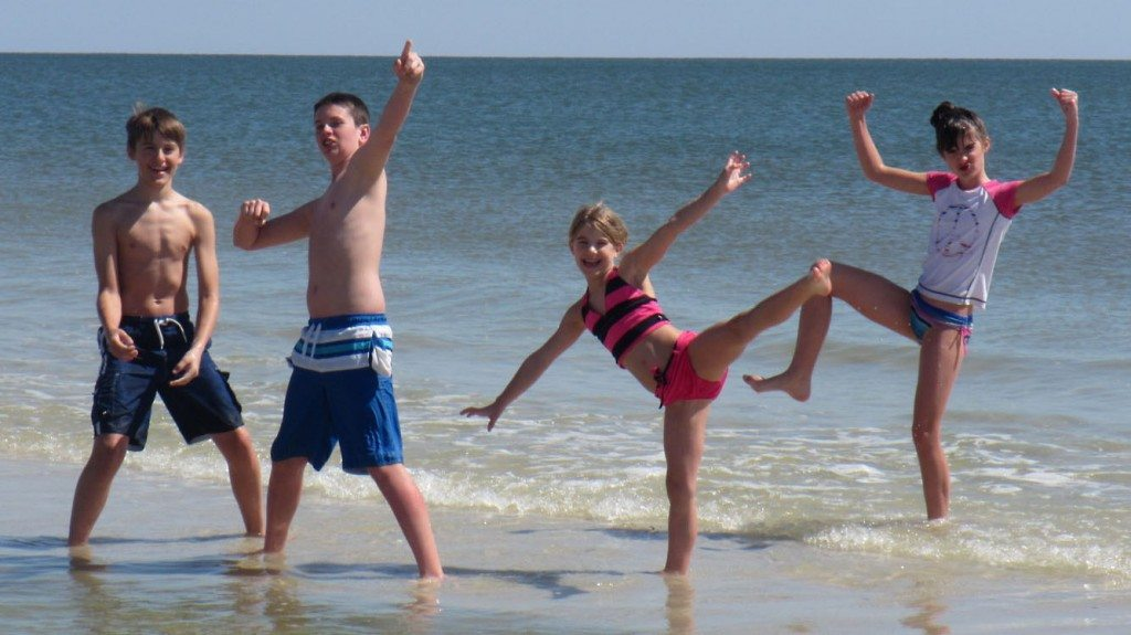 Our kids on the Gulf Shores beaches. We love Gulf Shores. So will your family!